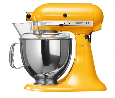 Миксер KitchenAid Artisan 4,8л желтый перец 5KSM150PSEYP
