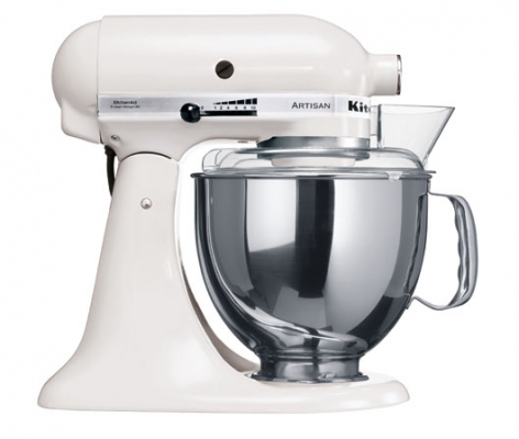 Миксер KitchenAid Artisan 4,8л белый 5KSM150PSEWH