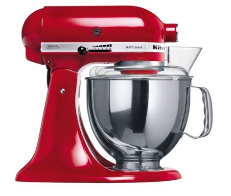 Миксер KitchenAid Artisan 4,8л красный 5KSM150PSEER