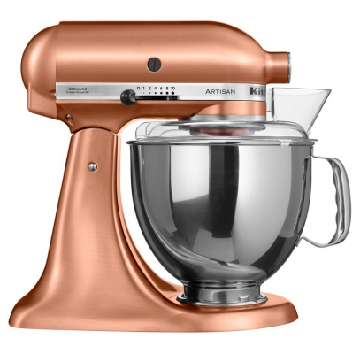 Миксер KitchenAid Artisan 4,8л медный 5KSM150PSECP