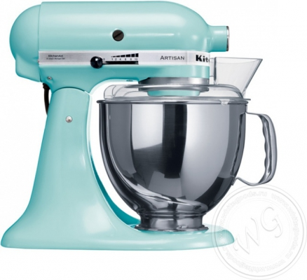 Миксер KitchenAid Artisan 4,8л голубой 5KSM150PSEIC