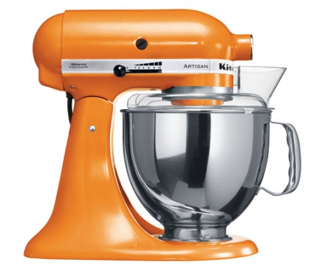 Миксер KitchenAid Artisan 4,8л мандариновый 5KSM150PSETG