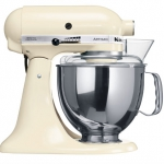 Миксер KitchenAid Artisan 4,8л кремовый 5KSM150PSEAC